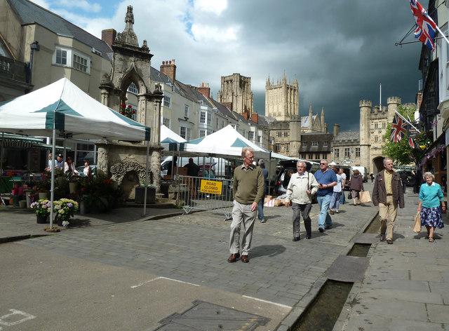 Market place, Wells