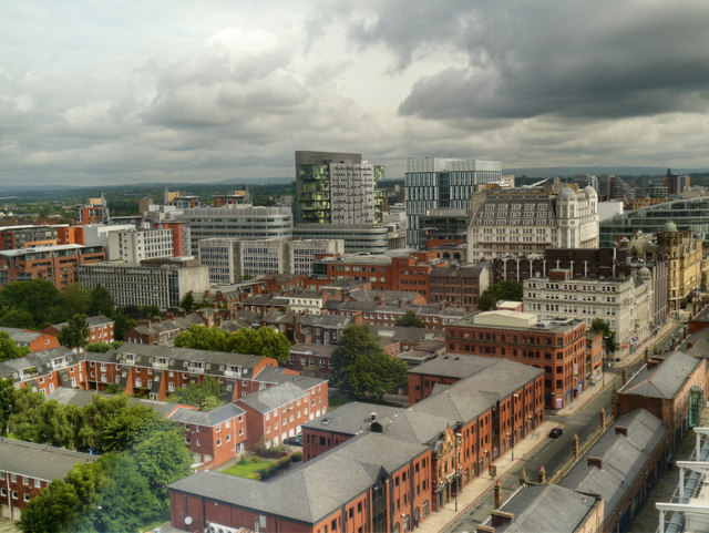 View from Beetham Tower
