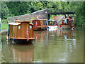 SO8556 : Steamboat traffic jam - Gregory's Mill Lock by Chris Allen