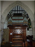 NZ0772 : The Parish Church of St Mary the Virgin, Stamfordham, Organ by Alexander P Kapp