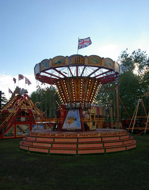 Fairground attraction, Priory Park
