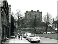 NZ2742 : Durham Castle from Palace Green - 1963 by M J Richardson