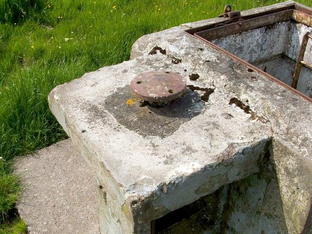 Alexandria ROC Bunker: GZI mount