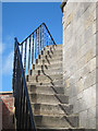 SZ3189 : Hurst Castle staircase by Oast House Archive