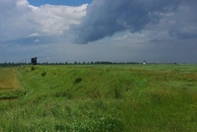 All quiet on Holbeach range