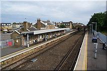 TR3752 : Deal railway station by Bill Boaden