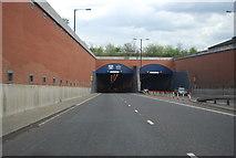 TQ7569 : Medway Tunnel, western portal by N Chadwick