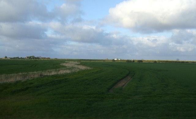 Farmland near Goswick