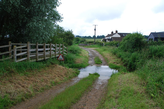 Ford on the Stour at Great Bradley