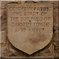 SD6721 : Darwen Tower Plaque by David Dixon