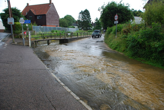 Ford at Steeple Bumpstead
