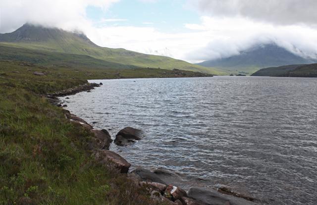 Northern shore of Loch Lurgainn