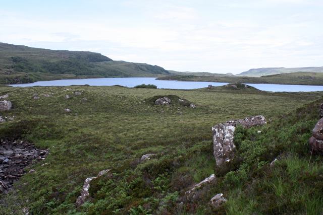 Moorland east of Loch Bad na h-Achlaise
