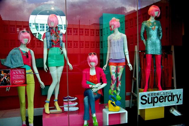 Galway Colourful Store Window Display 169 Joseph