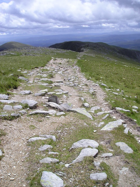 Track on Penywaun-wen