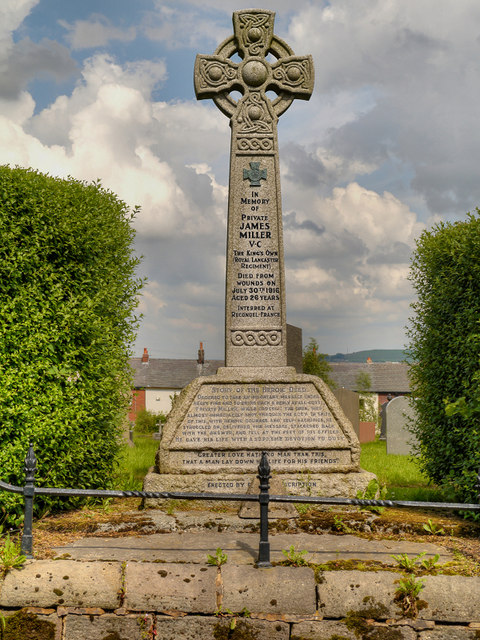 Memorial to Private Miller