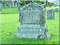 """SW5829 : Grave Dedicated to the """"Richards Family"""" by Raymond Cubberley"""