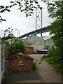 NT1278 : South Queensferry Townscape : Iron Sheds at Port Edgar by Richard West