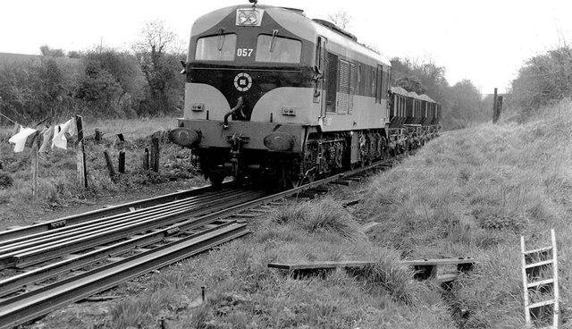 Gypsum train near Kingscourt