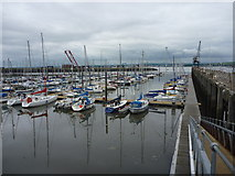 NT1278 : The Firth Of Forth : The Marina at Port Edgar by Richard West