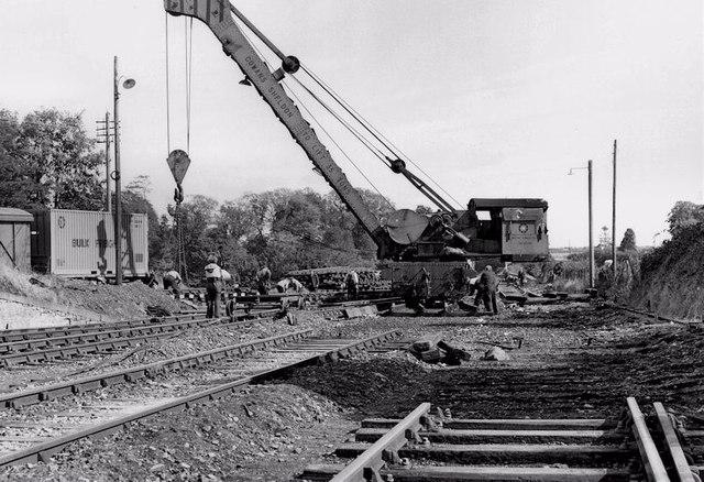Steam crane, Navan station