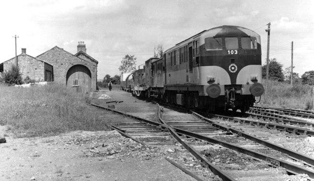 Weed spraying train, Kingscourt