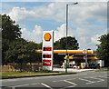 SJ9594 : Shell open again by Gerald England