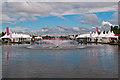 TQ1668 : The Long Water, Hampton Court by Ian Capper