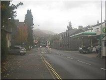 NY3704 : Looking along Lake Road towards Ambleside town centre by Graham Robson