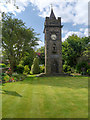 SD6021 : Memorial Garden and Clock Tower, Wheelton by David Dixon