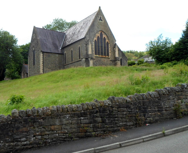 Grade II listed Church of St John the Baptist, Troedyrhiw