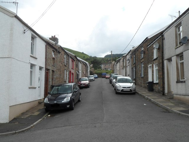 Church Street, Troedyrhiw by Jaggery