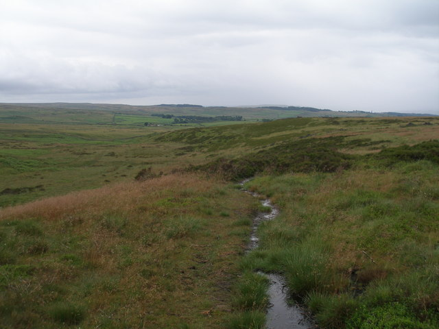 Soggy path over Rivock