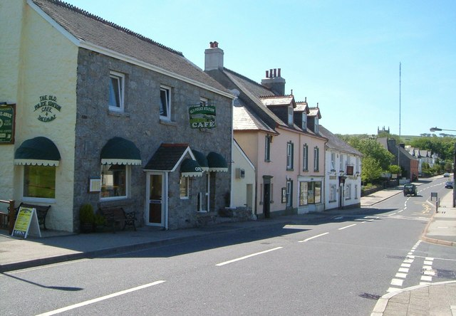Cafe and shops, Princetown