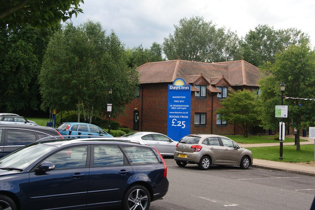 The motel at Maidstone Services