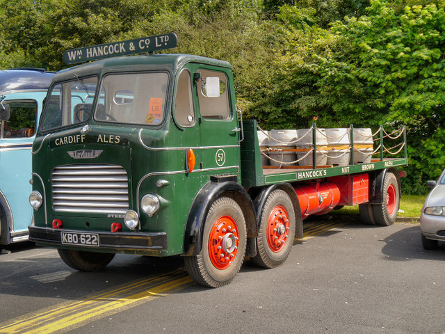 1954 Leyland Steer Beer Wagon