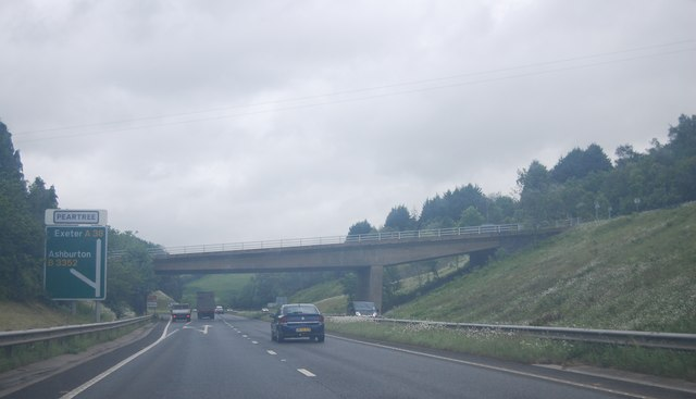 A38 at Peartree