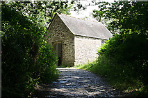 SX4268 : Calstock: chapel in the woods by Martin Bodman