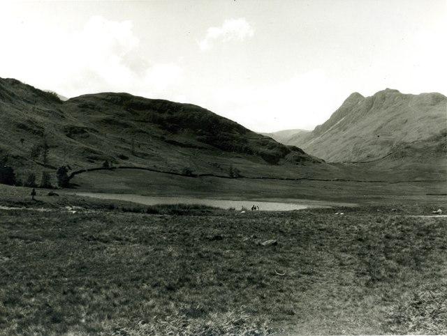 Looking across Blea Tarn - 1959