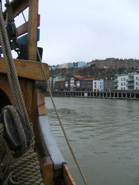 View across the Floating Harbour