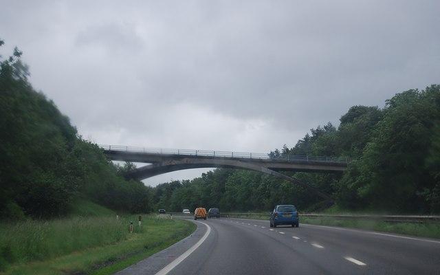 Woodway Street Bridge, A38