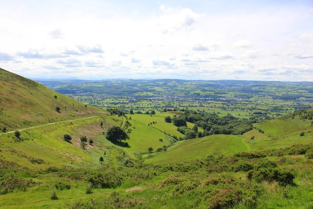 View across the Vale of Clwyd