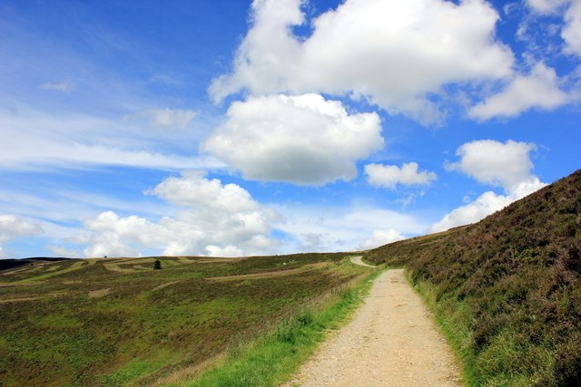 The Path to Moel Famau