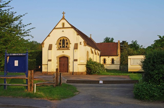 The former Catholic Church of St. William of York, Send Marsh Road, Send