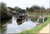 TQ1579 : Grand Union Canal by Martin Addison