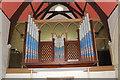 TQ8511 : Organ, St Andrew's Church, Fairlight by Julian P Guffogg
