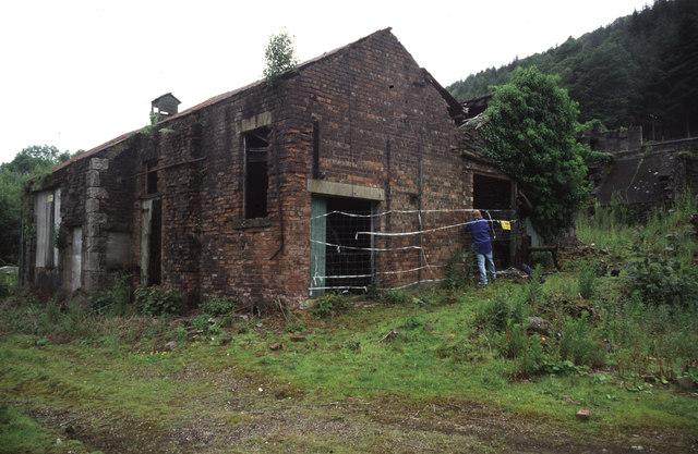 Backbarrow Ironworks - blowing engine house