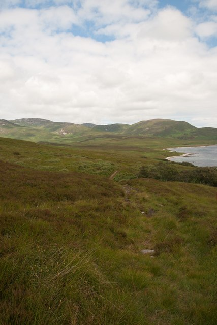 Track to Proaig, Islay
