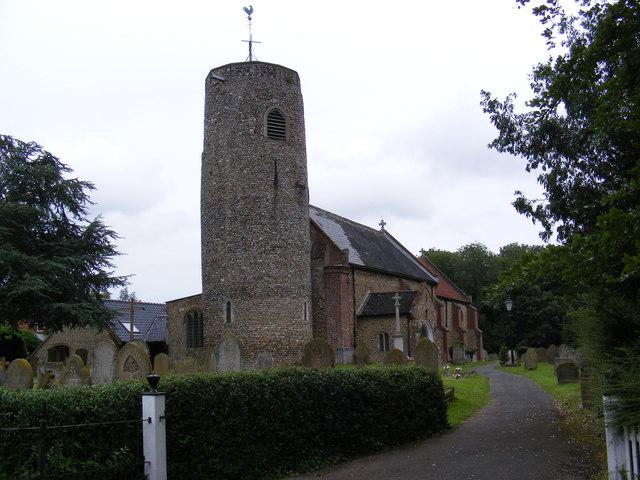 St.Peter's Church, Brooke