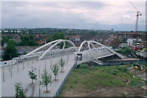 TQ1885 : White Horse Bridge, Wembley by Kevin Williams